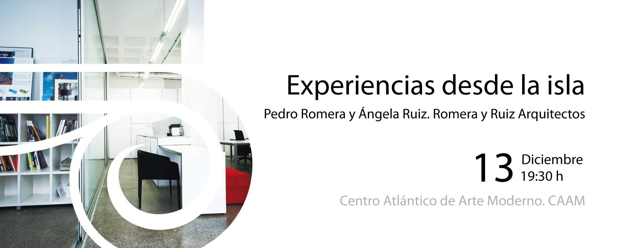 'Experiencias desde la isla' de Romera y Ruiz