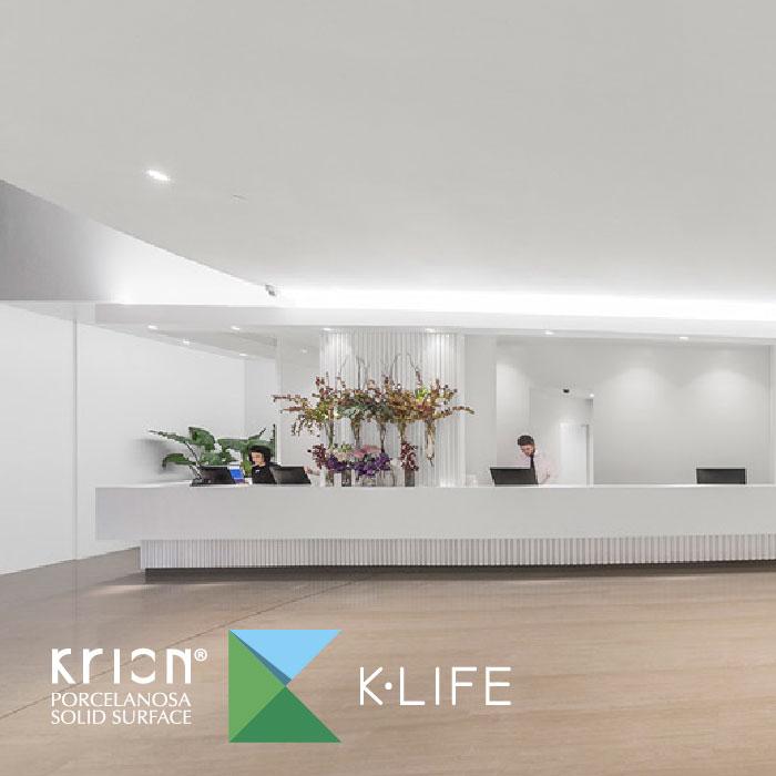 Presentación de Krion® K·Life