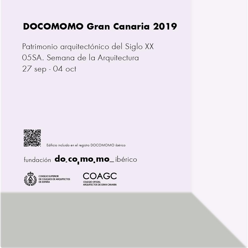 DOCOMOMO Gran Canaria 2019