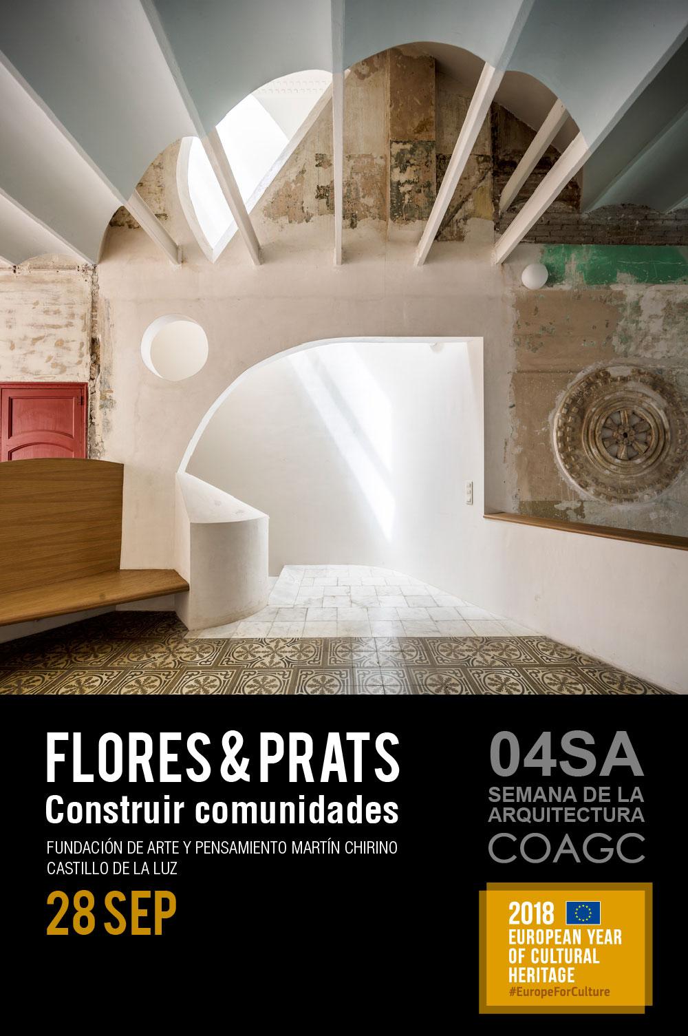 Conferencia 'Construir comunidades' de Flores & Prats Arquitectos