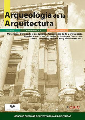 Arqueología de la Arquitectura 13