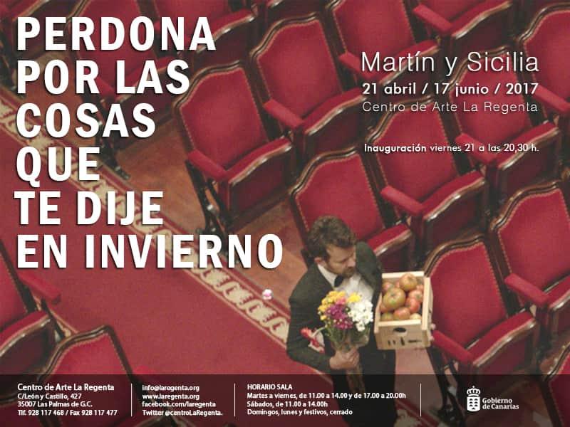Exposición 'Perdona por las cosas que te dije en invierno' de Martín y Sicilia