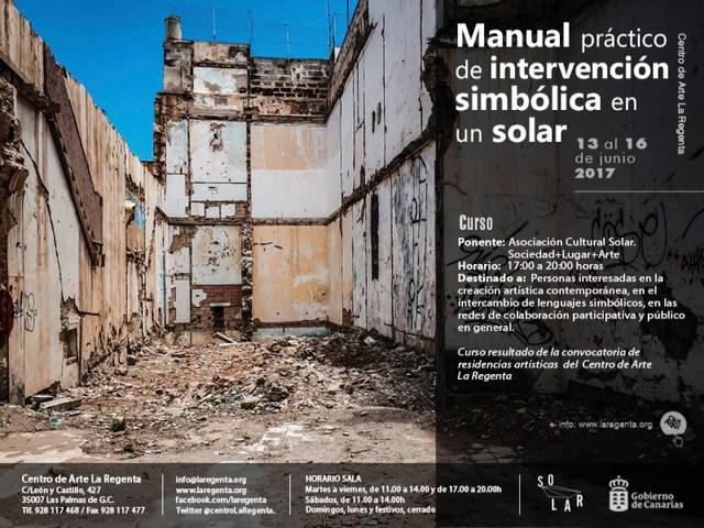 Curso 'Manual práctico de intervención simbólica en un solar'
