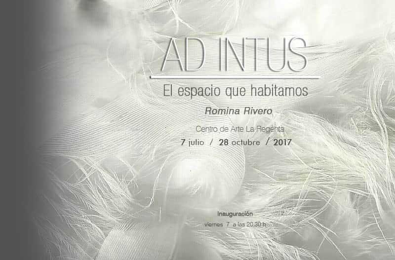 Exposición 'Ad intus' de Romina Rivero