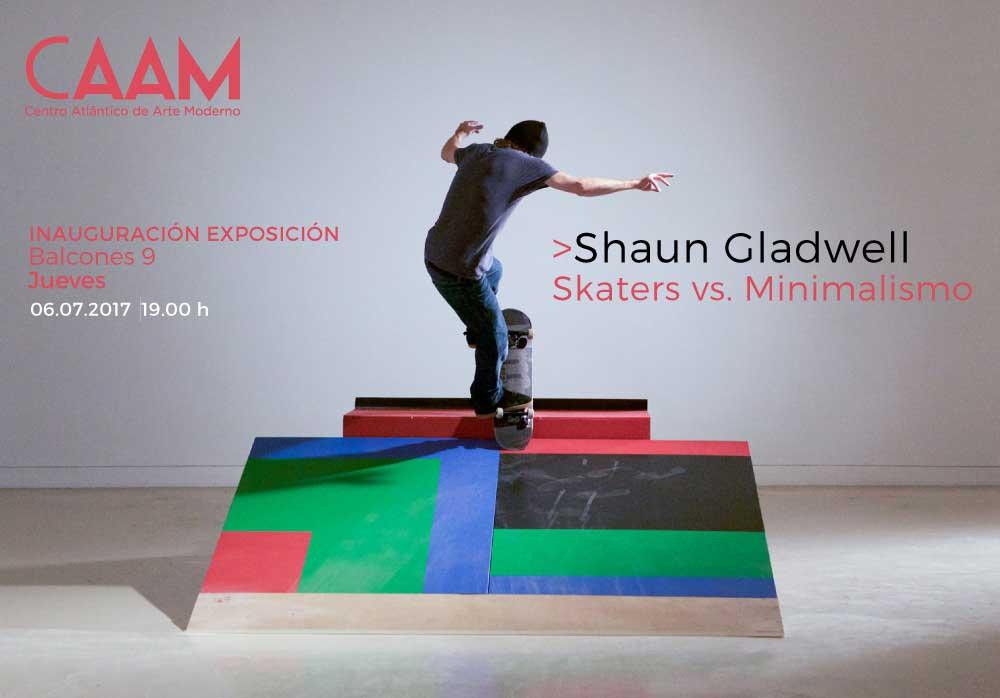 Exposición 'Skaters vs Minimalismo' de Shaun Gladwell