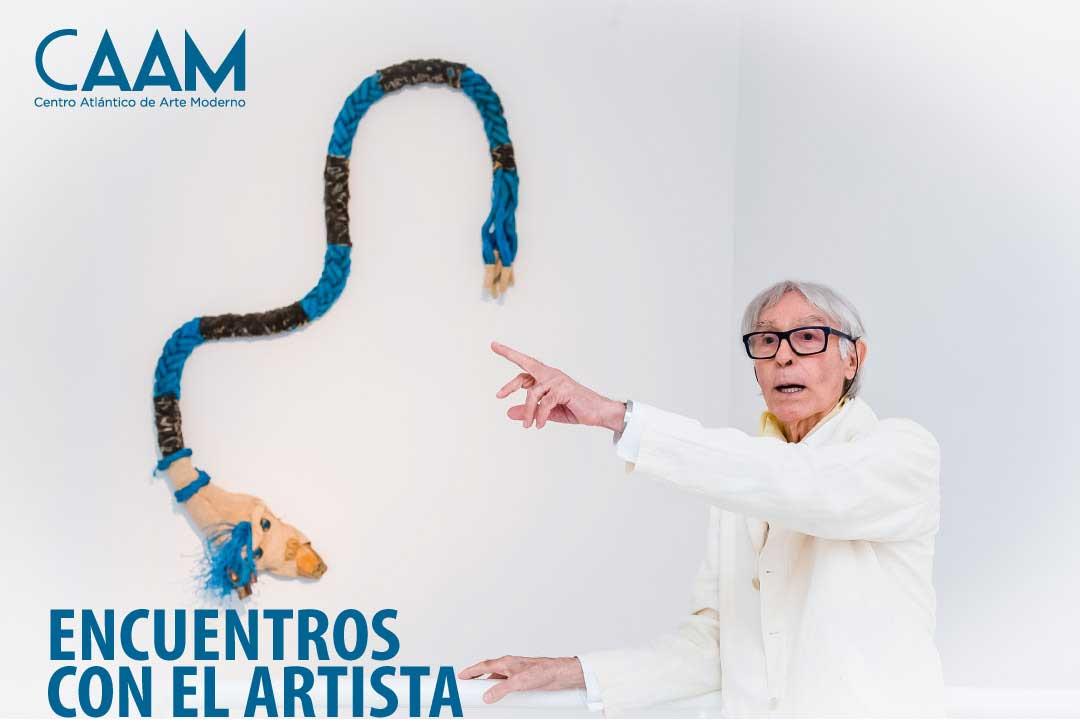 Visita guiada de Pepe Dámaso a su exposición en el CAAM