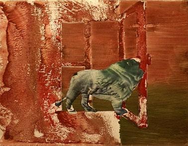 'Grisou, lion Bondissant' de Óscar Domínguez