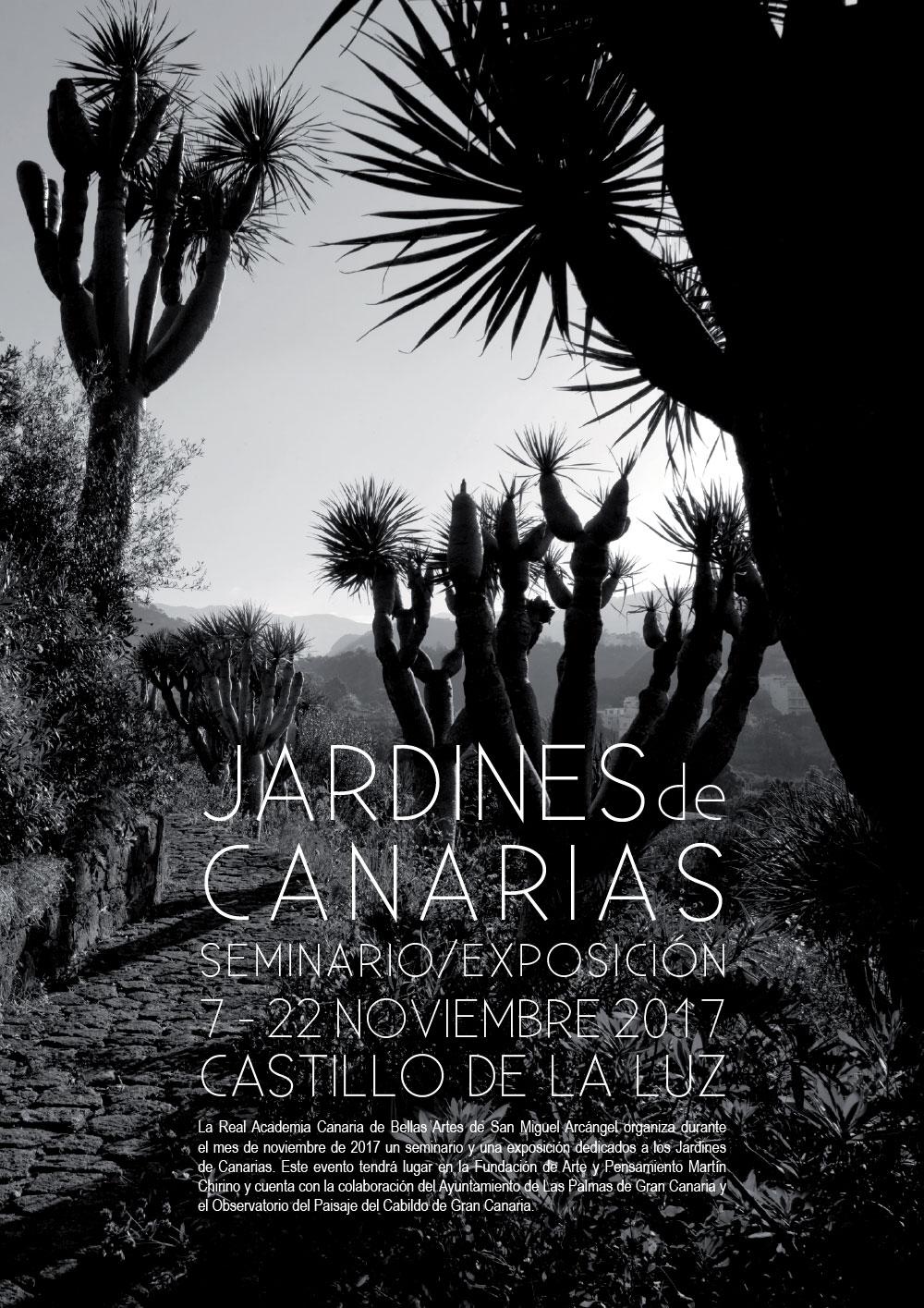 Seminario 'El jardín en Canarias'