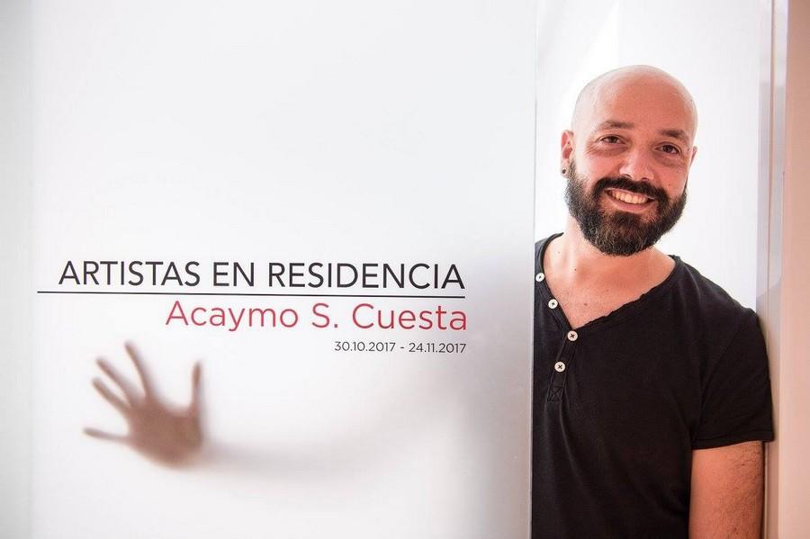 Exposición 'El pilar fundamental' de Acaymo S. Cuesta