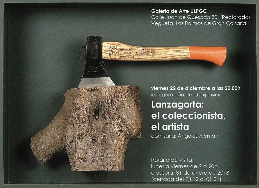 Exposición 'Lanzagorta: El coleccionista, el artista'
