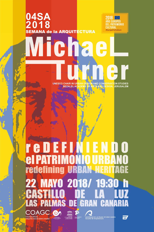 Conferencia 'Redefiniendo el patrimonio urbano' de Michael Turner
