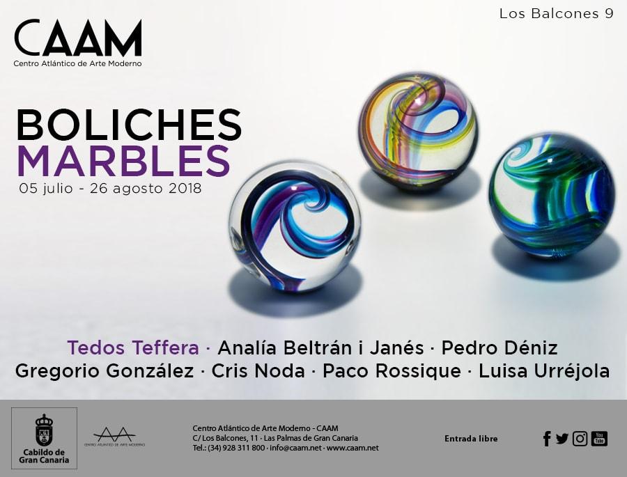 Exposición 'Boliches - Marbles'
