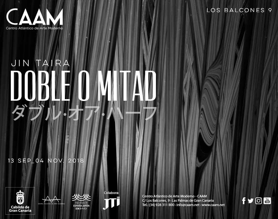 Exposición 'Doble o mitad' de Jin Taira