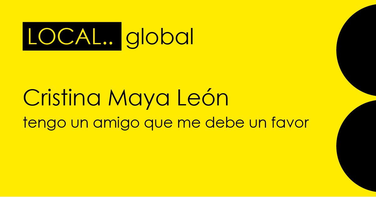 Conferencia de Cristina Maya