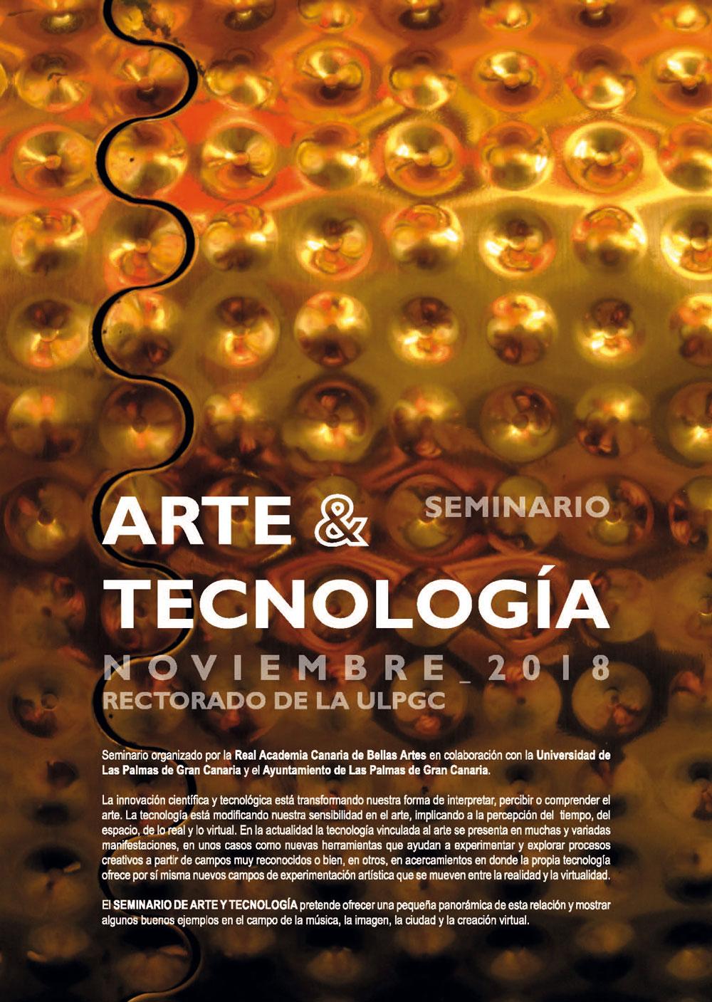Seminario 'Arte y tecnología'