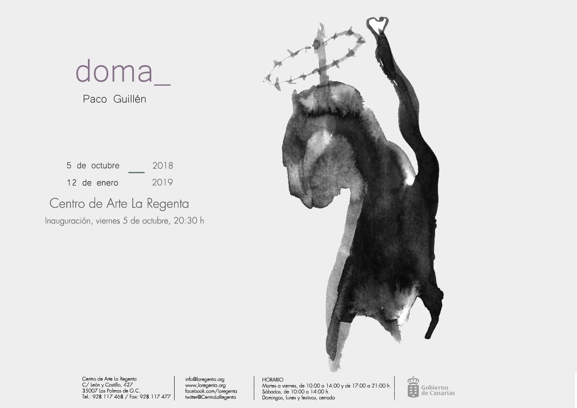 Exposición 'Doma' de Paco Guillén