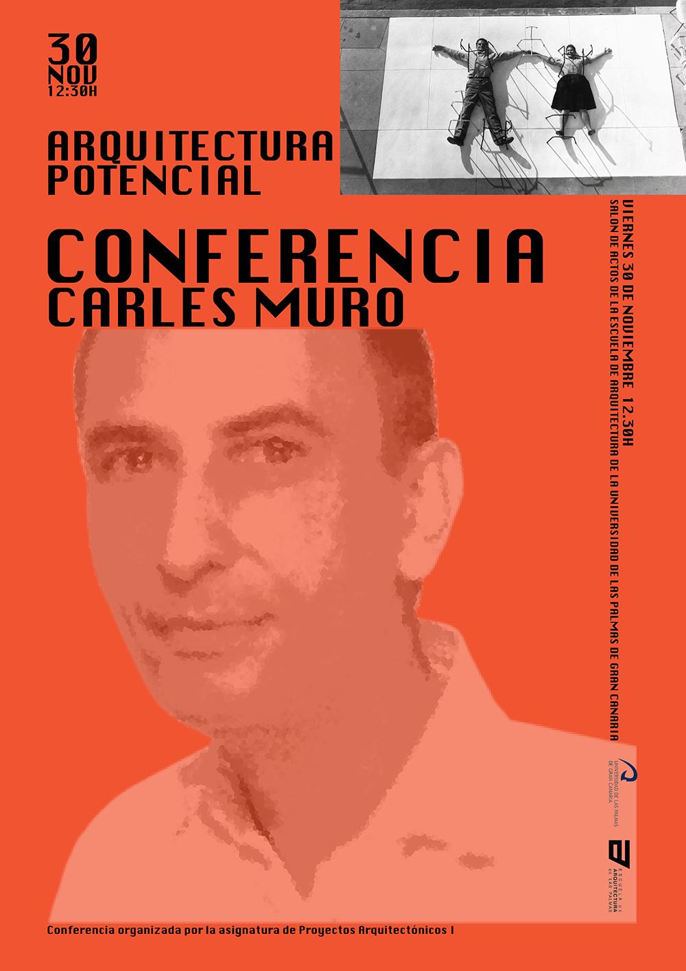 Conferencia 'Arquitectura potencial' de Carles Muro