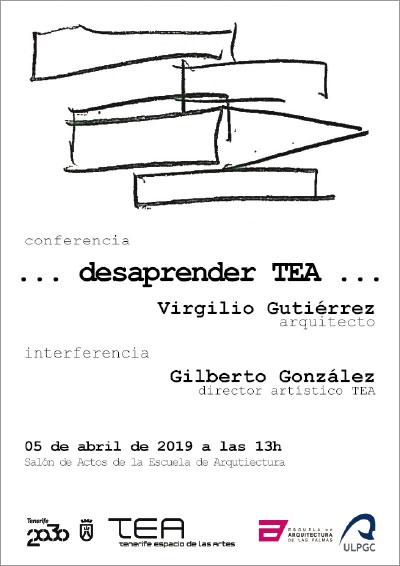 Conferencia 'Desaprender TEA' de Virgilio Gutiérrez y Gilberto González