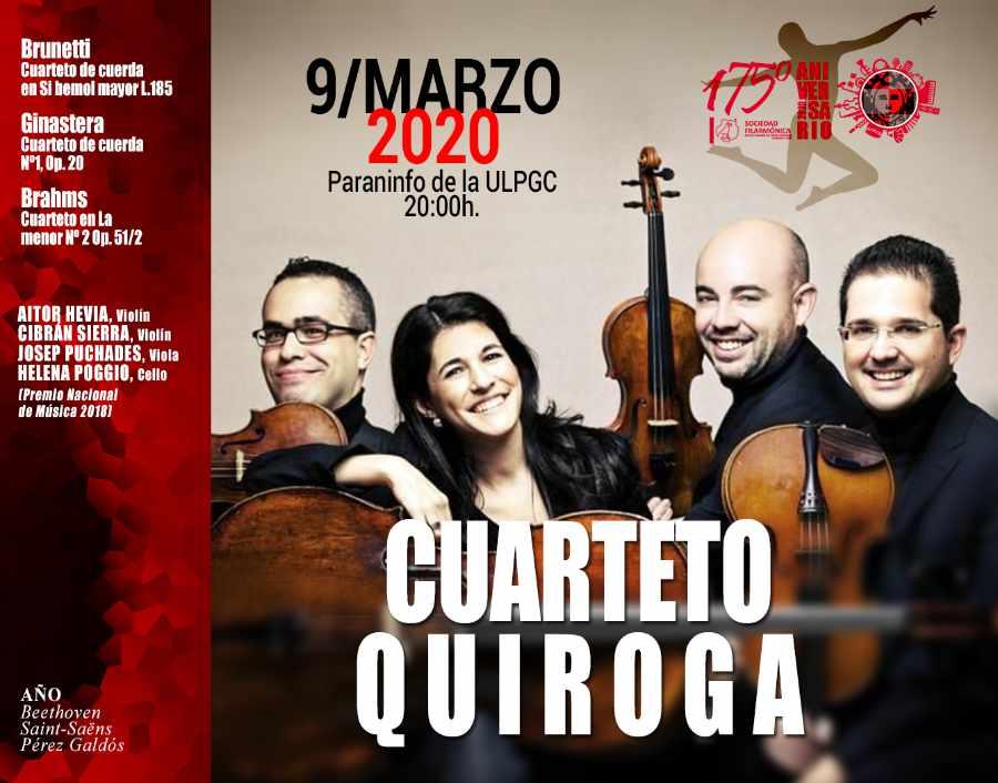 Concierto del Cuarteto Quiroga