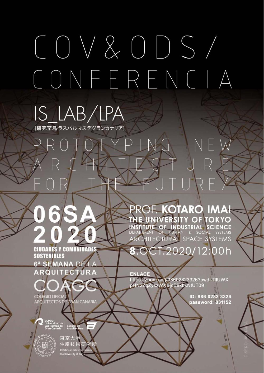 Conferencia 'Prototyping new architecture for the future' de Kotaro Imai
