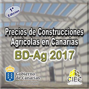 Base de Precios de Construcciones Agrícolas en Canarias