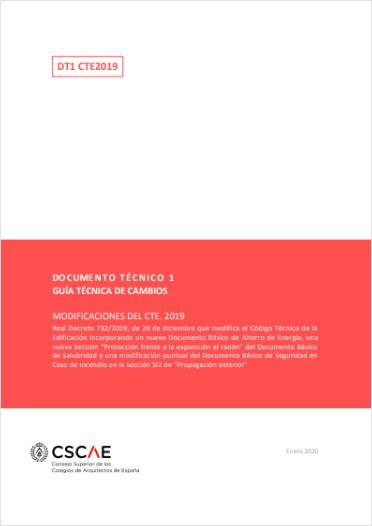 Guía técnica de cambios en el CTE