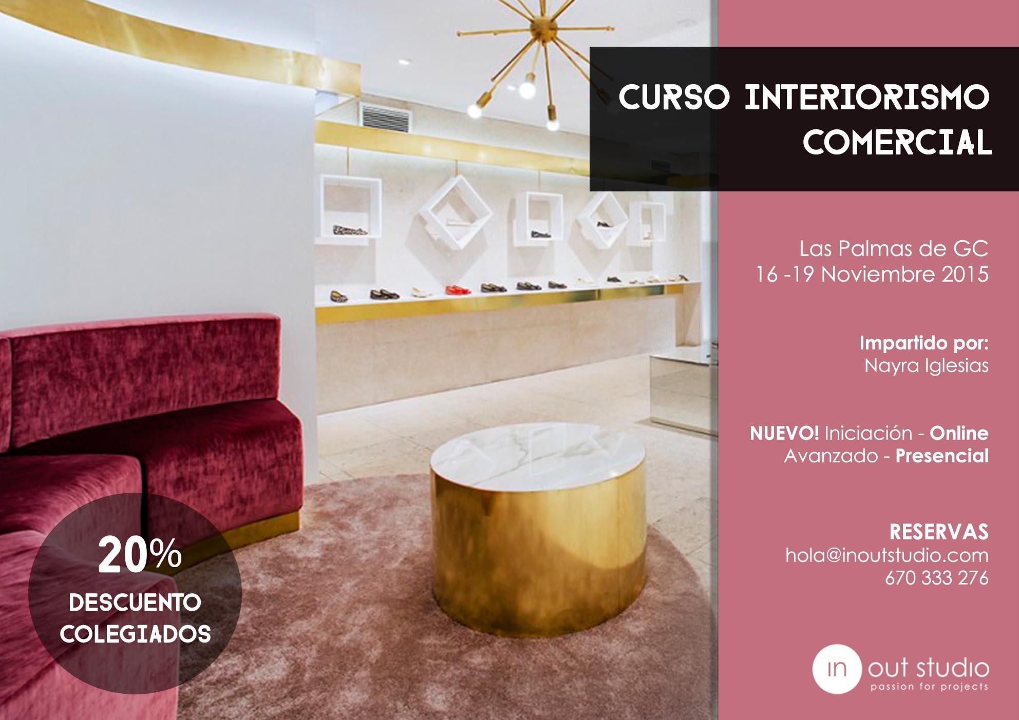 Curso de interiorismo comercial eventos for Curso de interiorismo