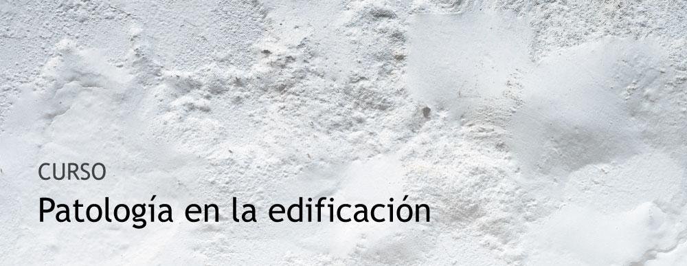 Patologia edificación