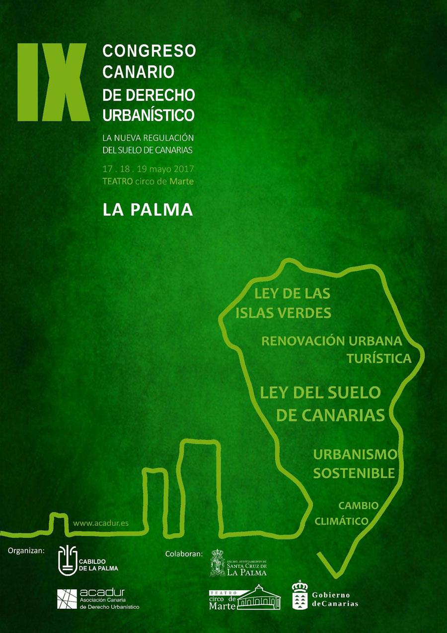 IX Congreso Canario de Derecho Urbanístico