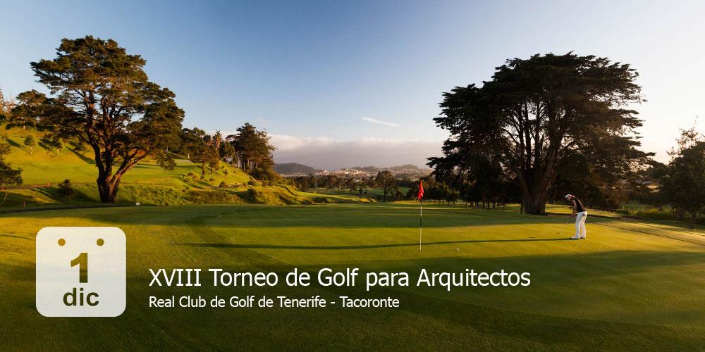 18º Torneo de golf para Arquitectos