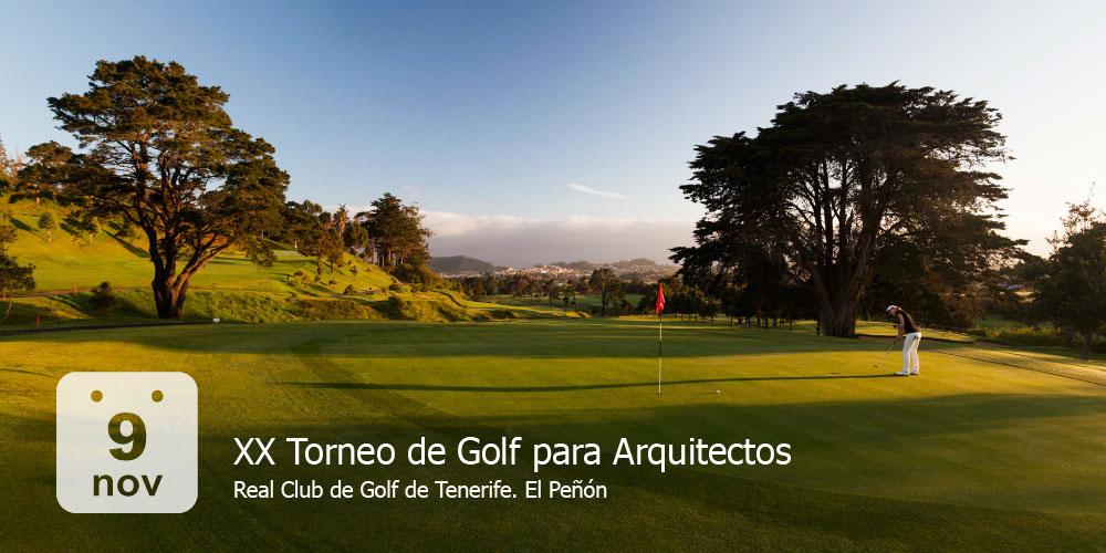XX Torneo de Golf para Arquitectos