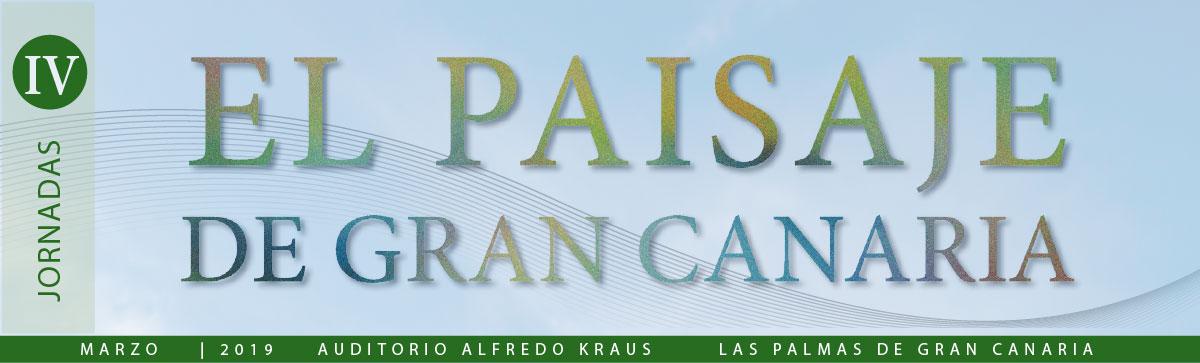IV Jornadas del Paisaje de Gran Canaria