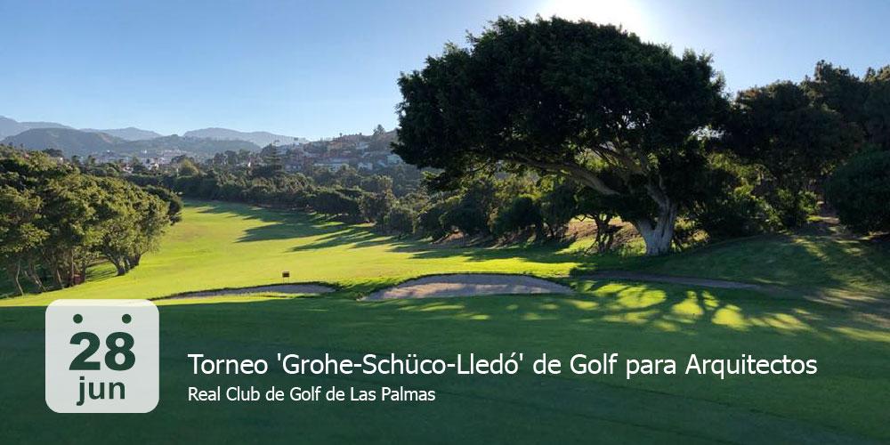 Torneo 'Grohe-Schüco-Lledó' de Golf para Arquitectos