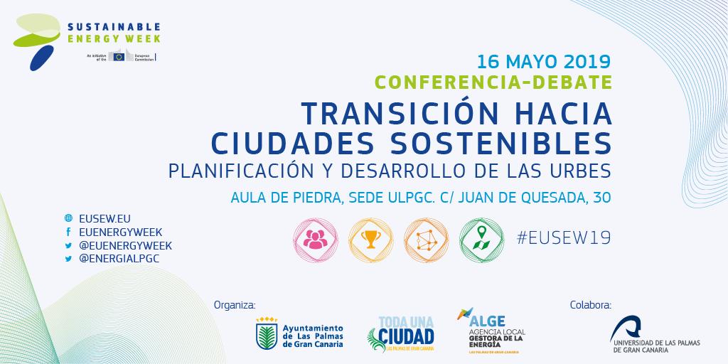 Conferencia-debate 'Transición hacia ciudades sostenibles'