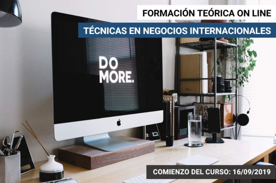 Curso online sobre técnicas en negocios internacionales