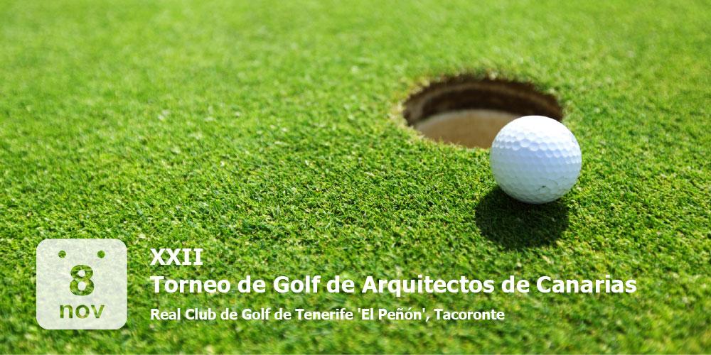 XXII Torneo de Golf de Arquitectos