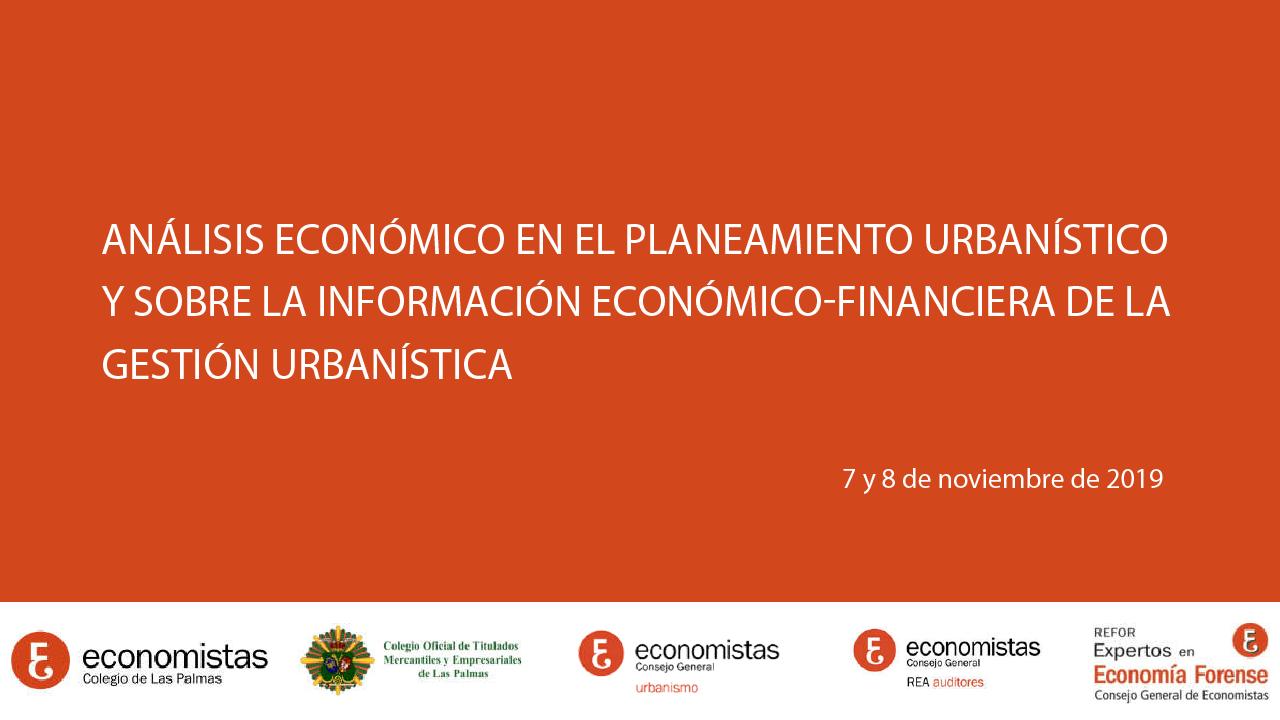 Análisis económico en el planeamiento