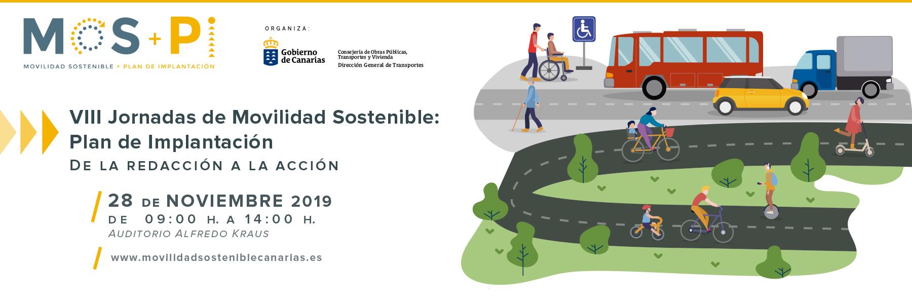 VIII Jornadas de movilidad sostenible
