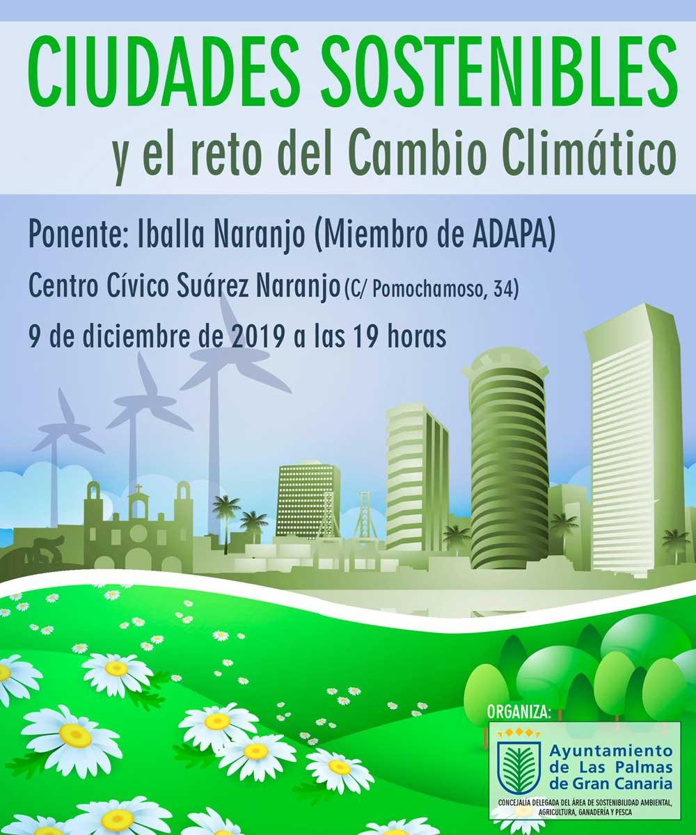 Ciudades sostenibles y el reto del cambio climático