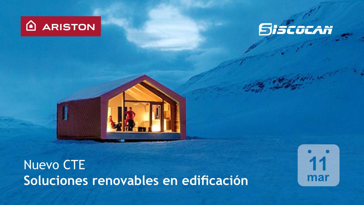 Jornada Siscocan 'Nuevo CTE. Soluciones Renovables en edificación'