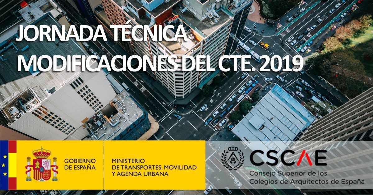 Jornada técnica sobre los cambios en el CTE