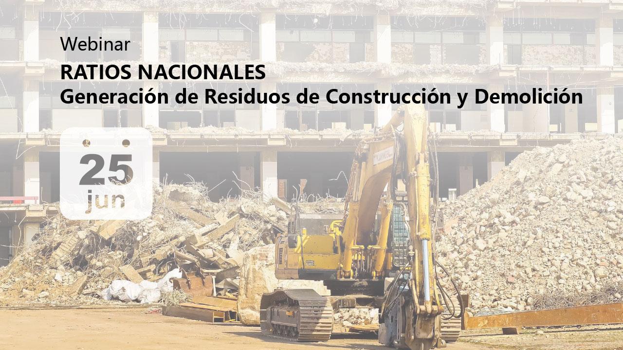 Generación de residuos de construcción y demolición