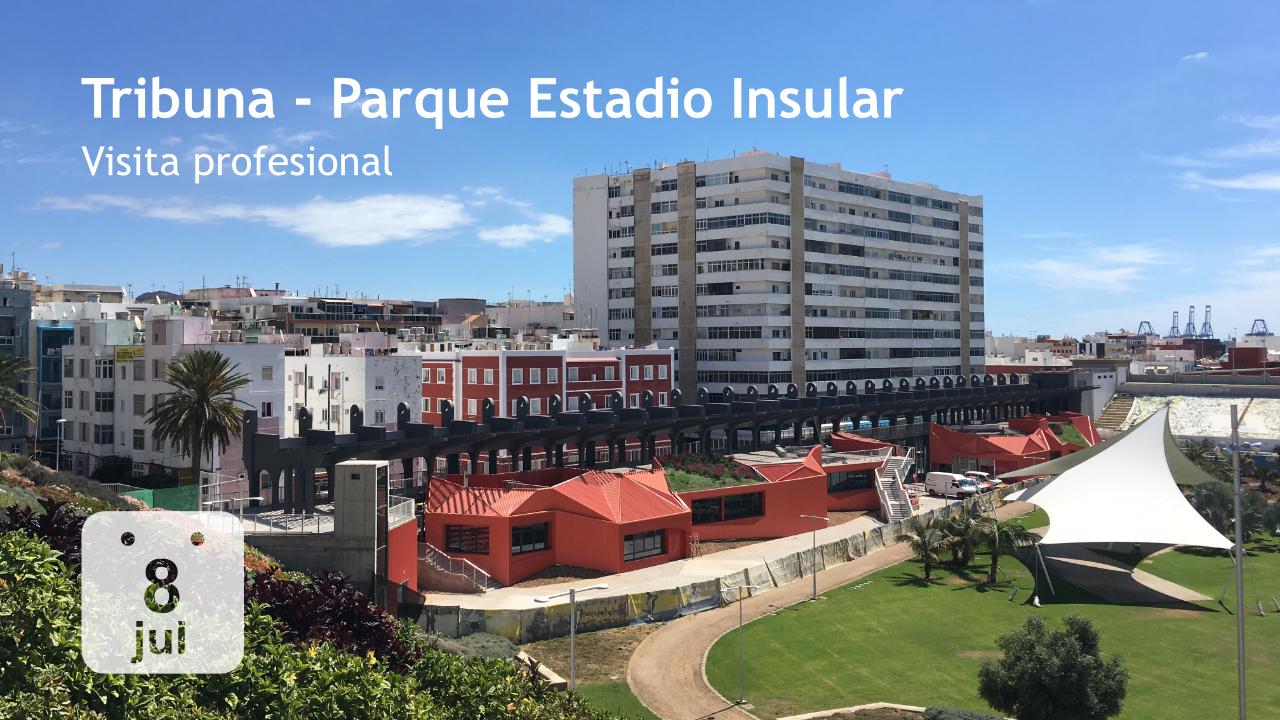 Tribuna - Parque del Estadio Insular